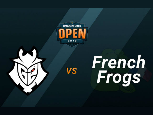 DREAMHACK OPEN TOURS 2019 G2 vs FRENCHFROGS