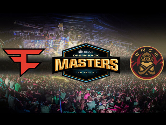 ENCE vs FaZe - DreamHack Dallas 2019