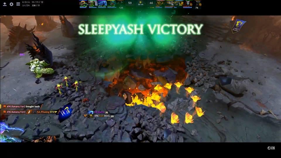 Kết quả hình ảnh cho sleepy ash vs 496 gaming game 2