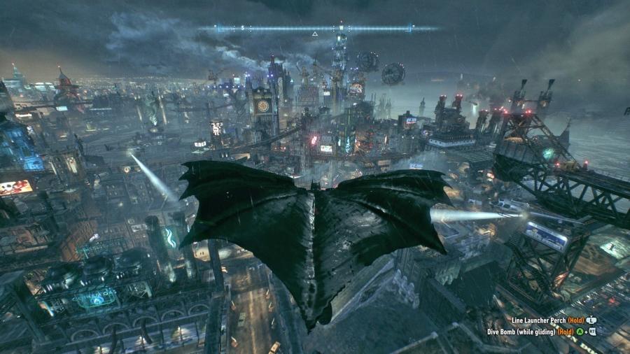 Kết quả hình ảnh cho Batman: Arkham City ingame