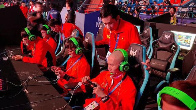 Kết quả hình ảnh cho Tuyển Mobile Legends Việt Nam bị loại bán kết
