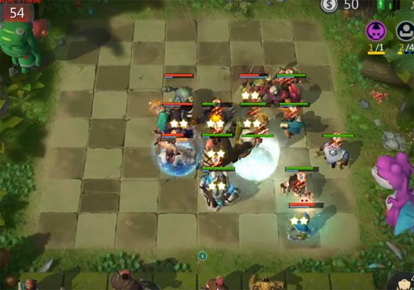 Sử dụng phép trước Auto Chess Mobile