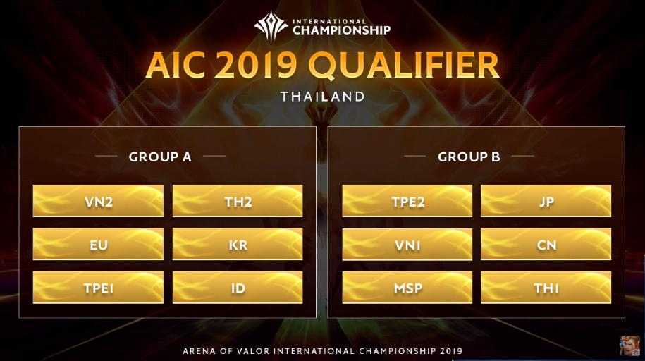 Lịch thi đấu AIC 2019 Liên quân Mobile: Việt Nam vô địch?